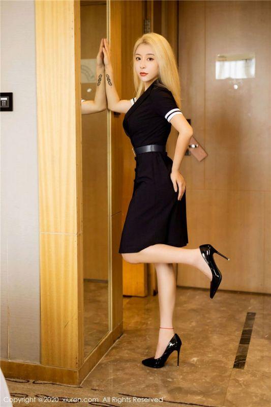 长腿高跟美女糯米