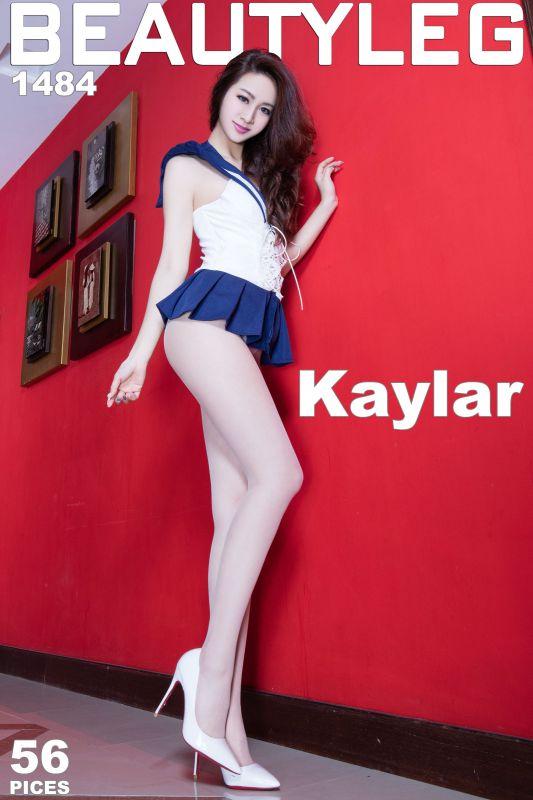 Kaylar 制服高跟美腿写真套图