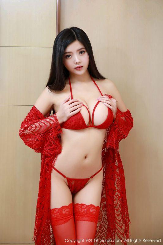 林美惠子新春特辑情趣内衣配红丝袜