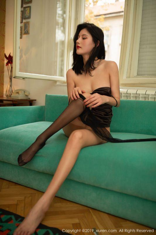 黑色高跟大长腿很难在她身上坚持5分钟